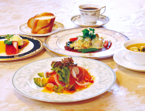 魚料理のコース・・・¥3000